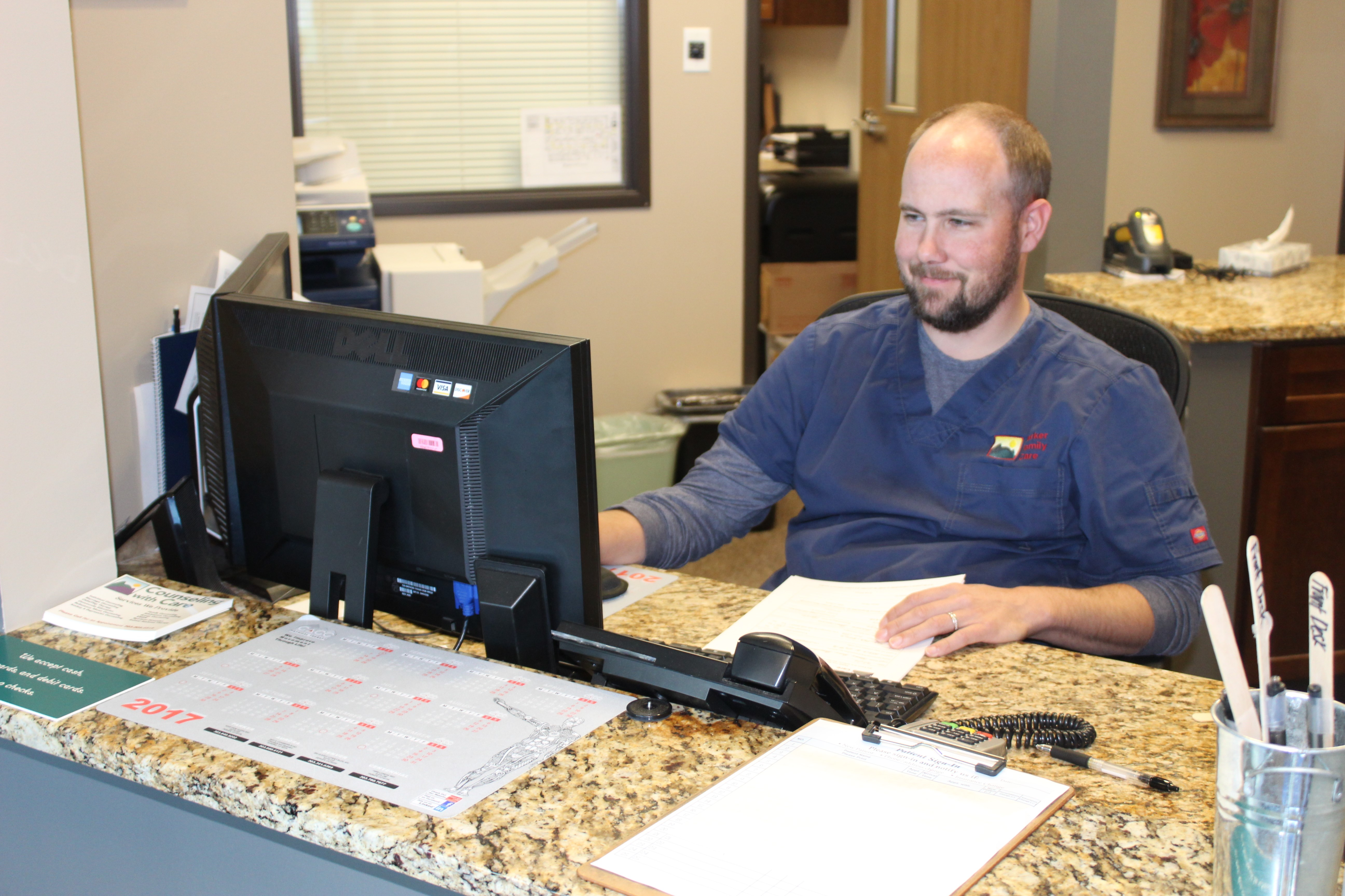 Jeremiah, Front Desk